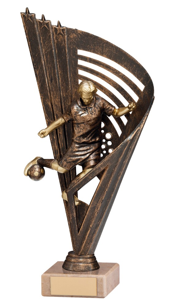 Vortex Male Striker Football Trophies