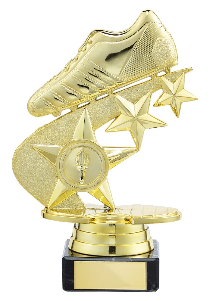 Champions Football Boot Trophies