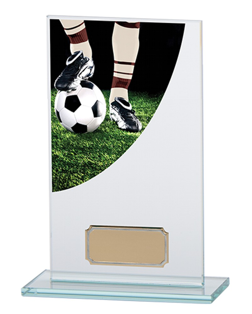 Football Premium Jade Glass Trophies