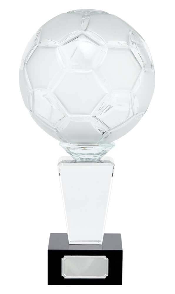 Ultimate 3D Crystal Football Ball Trophies