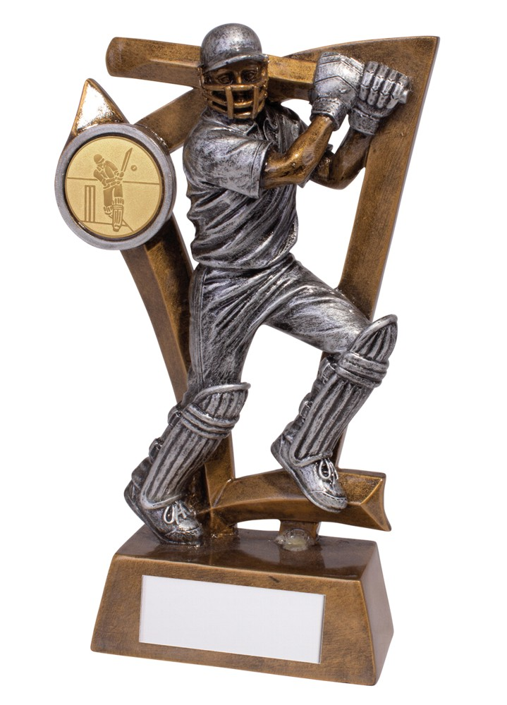 Resin Predator Cricket Batsman Trophies