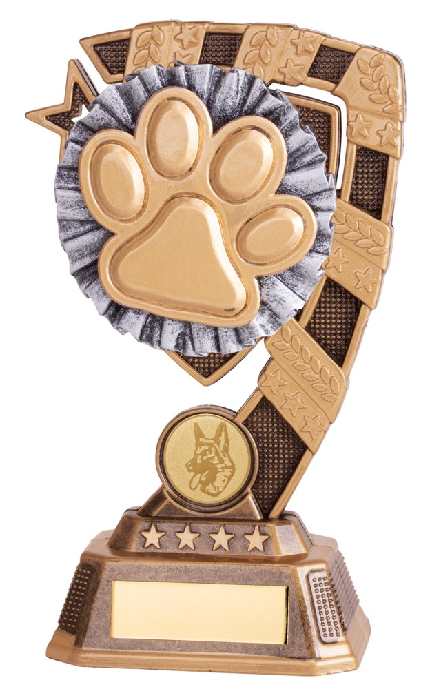 Euphoria Dog Paw Pet Trophies