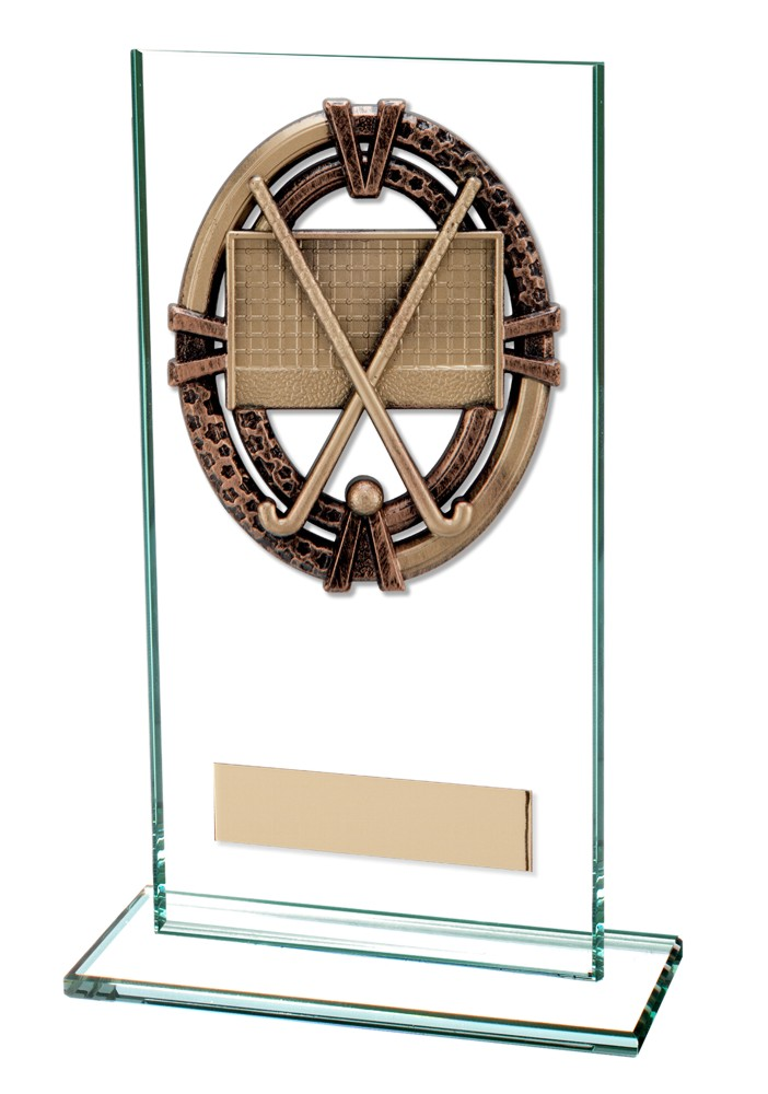 Maverick Legacy Hockey Glass Plaques