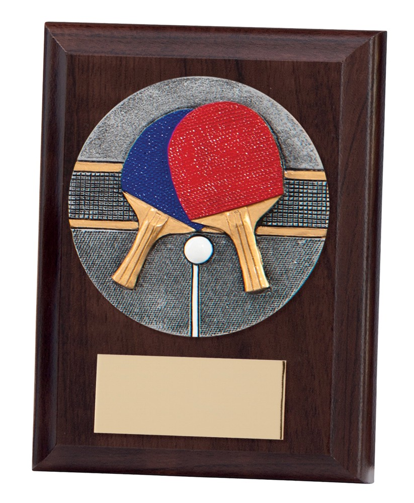 Phoenix Table Tennis Wooden Plaques