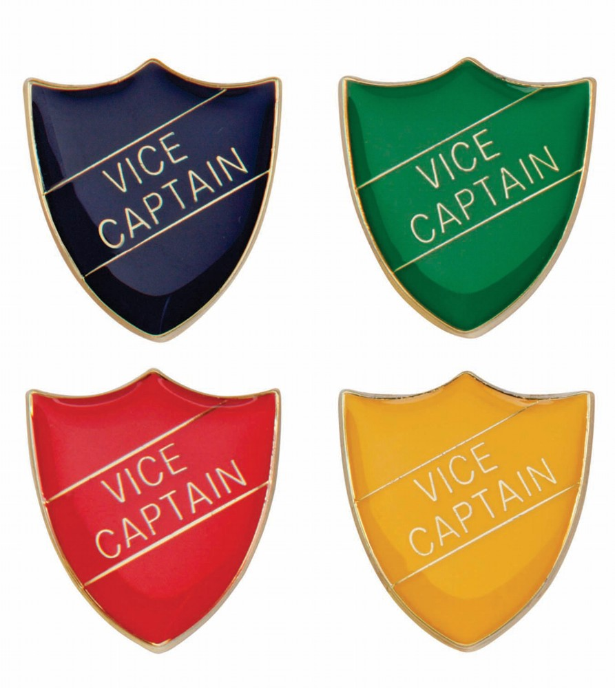 Scholar Vice Captain Shield Badges