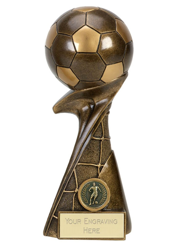 Curl 3D Football Ball Trophies