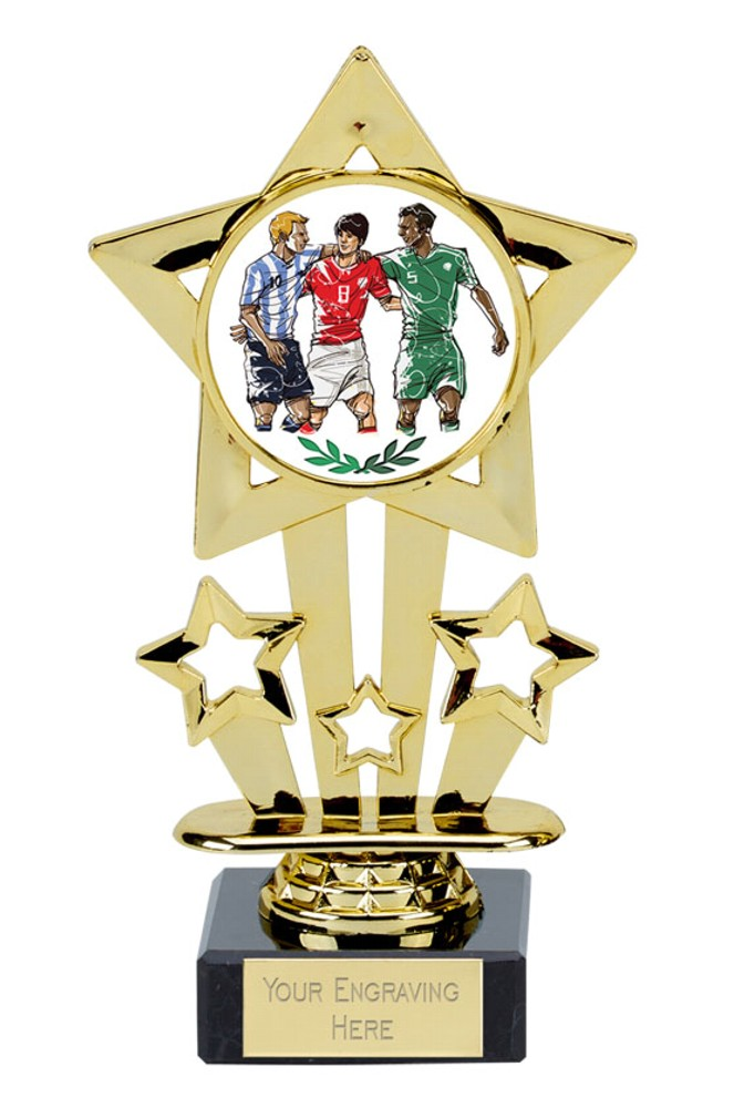Star Football Trophies