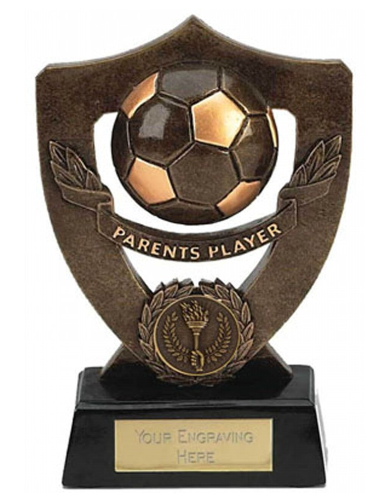 Shield Parents Player Football Trophies