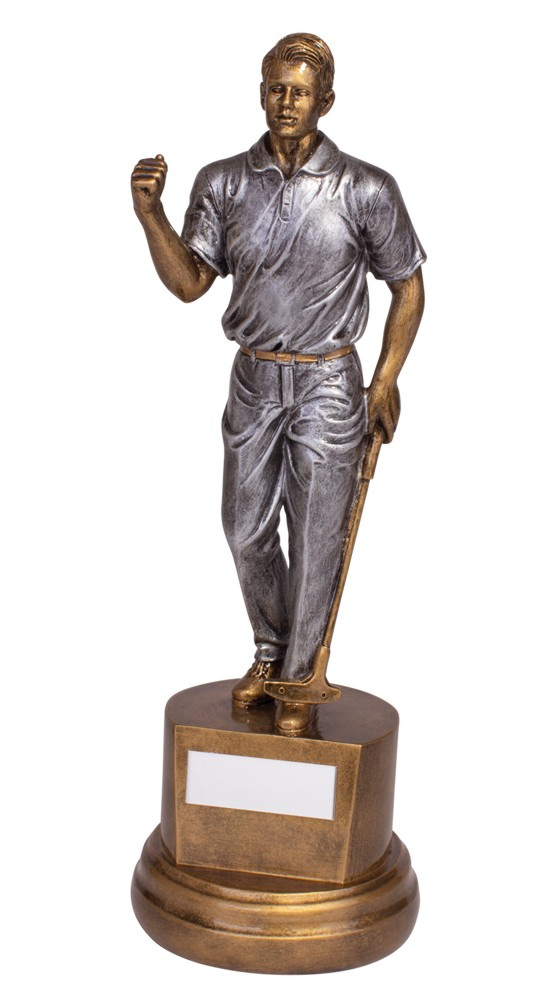 Boston Classic Resin Golf Figure Trophies