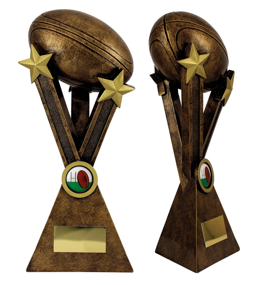 3D Resin Rugby Trophies