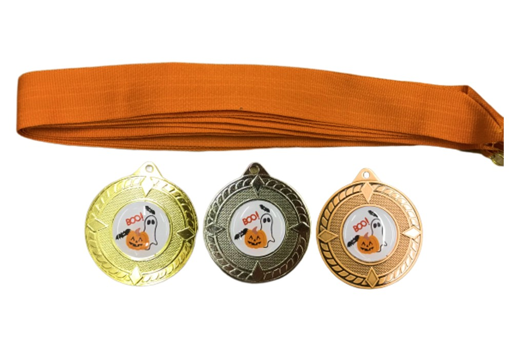 Halloween Medals and Ribbons