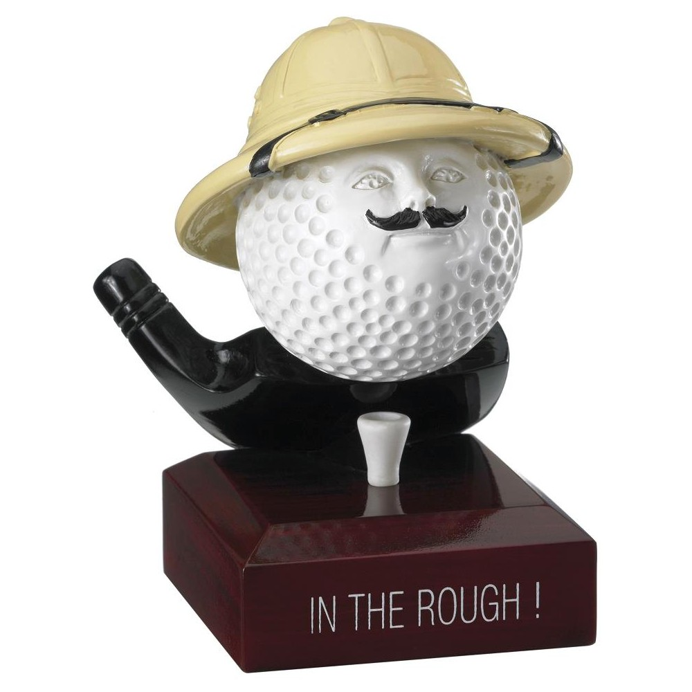 In The Rough Novelty Golf Trophies