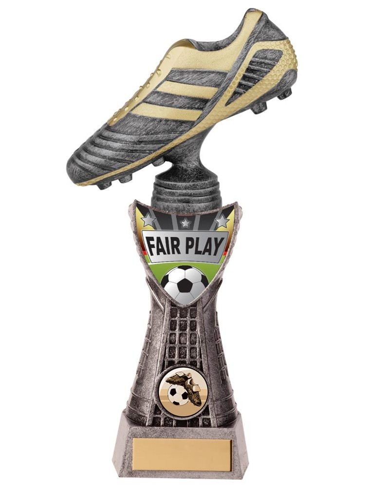 Valiant Striker Fair Play Football Trophies
