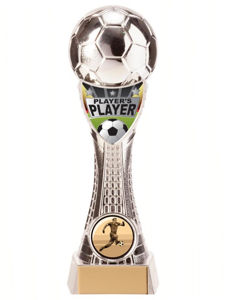 Silver Valiant Players Player Football Trophies