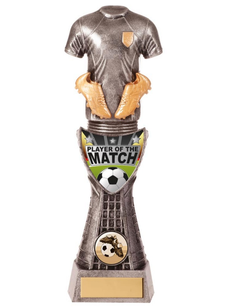 Valiant Player of the Match Football Trophies