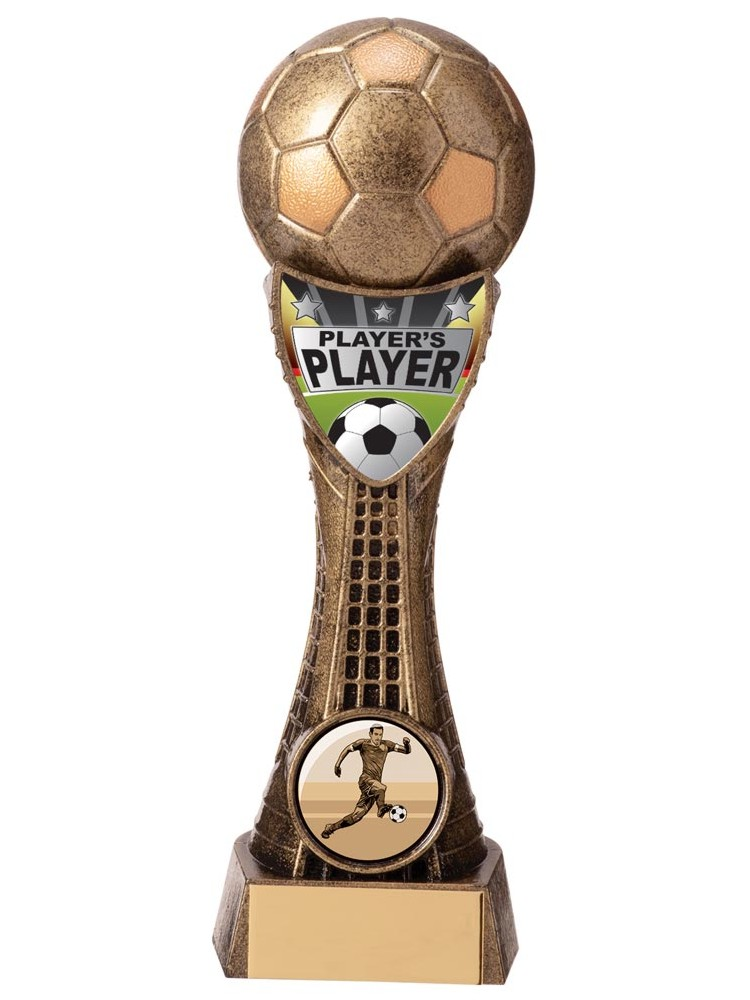Gold Valiant Players Player Football Trophies
