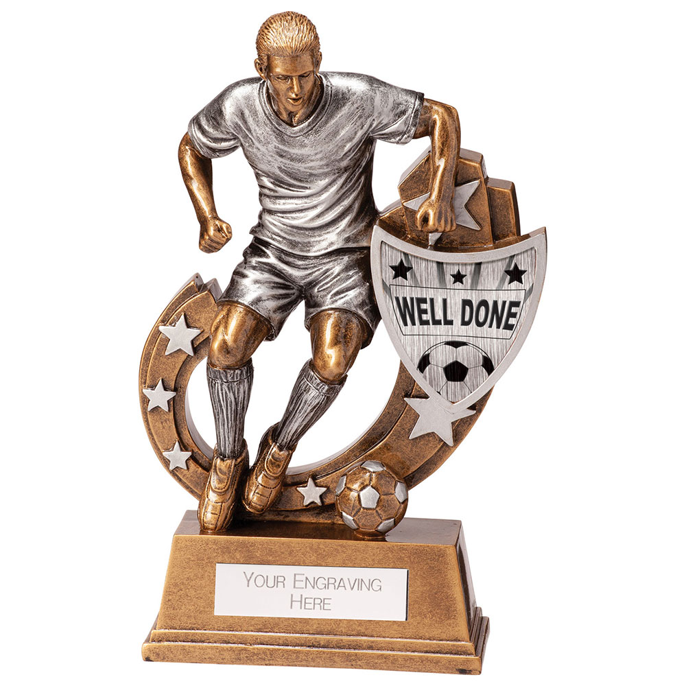 Galaxy Well Done Football Trophies