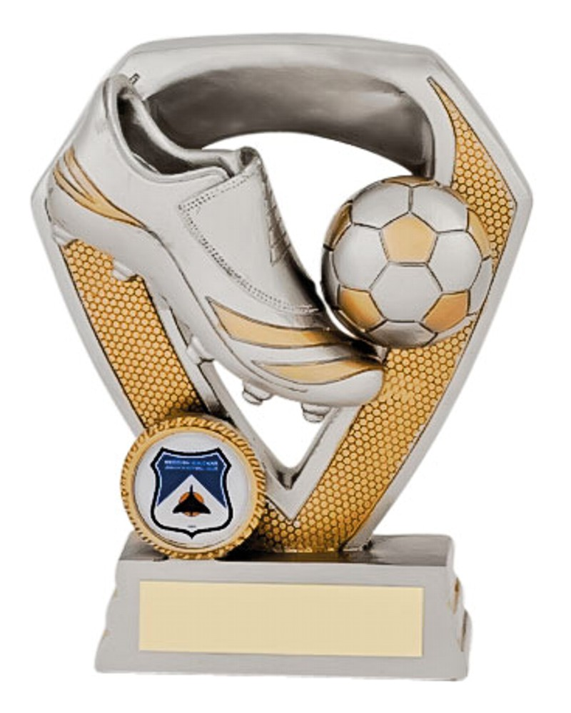 Resin Football Boot and Ball Trophies