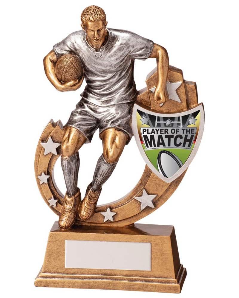 Galaxy Player of the Match Rugby Trophies