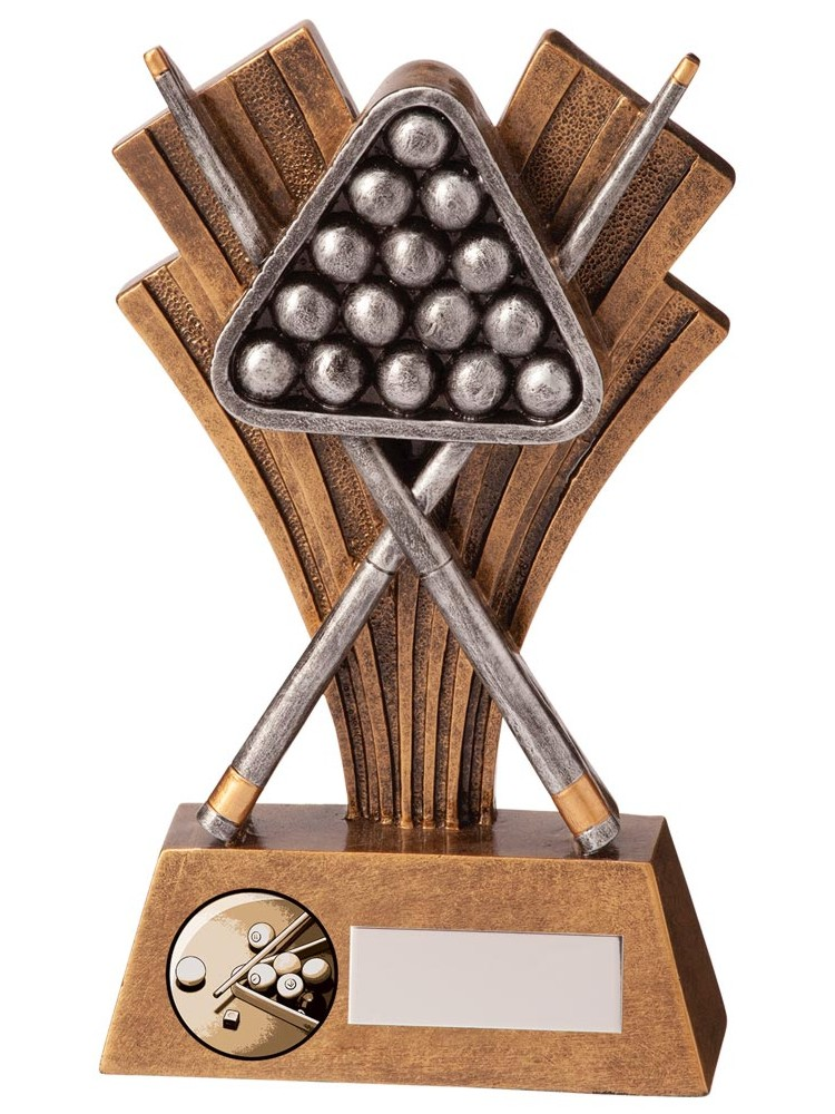 Xplode Pool Snooker Triangle Trophies