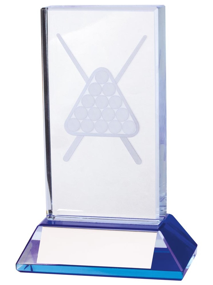 Davenport 3D Crystal Pool/Snooker Trophies