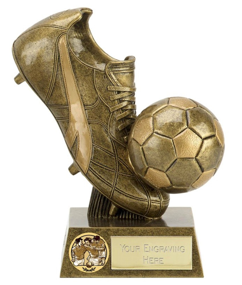 Presentation Football Boot Trophies
