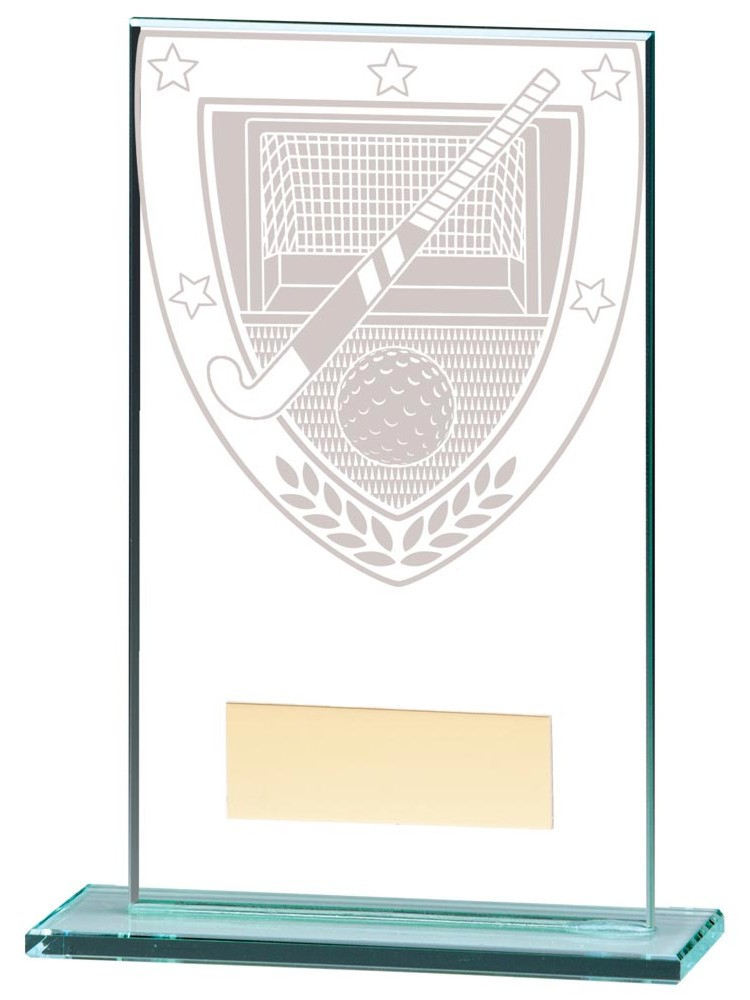Millennium Hockey Glass Plaques