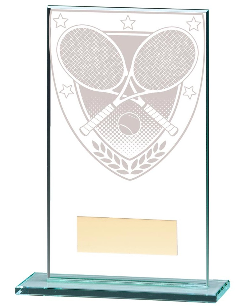 Millennium Tennis Glass Trophies