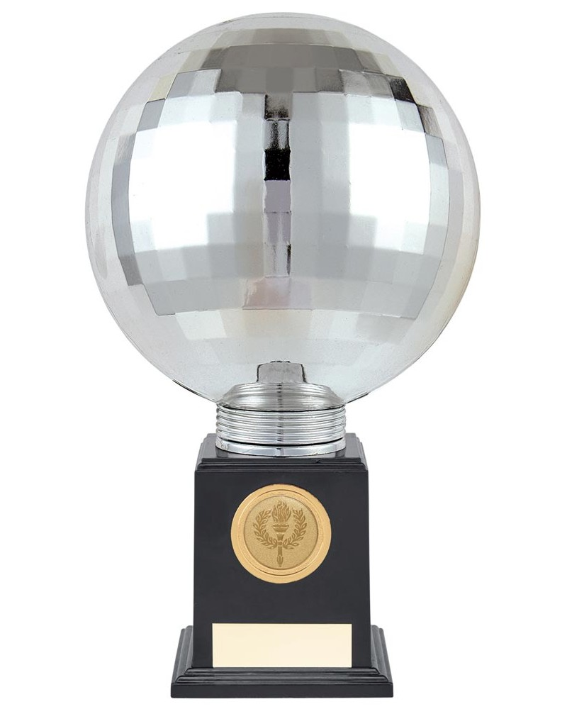Planet Silver Disco Ball Trophies