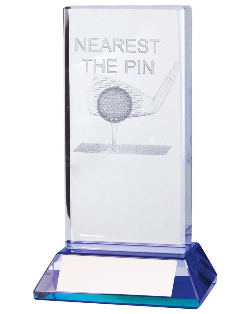 Davenport Crystal Nearest The Pin Golf Trophies