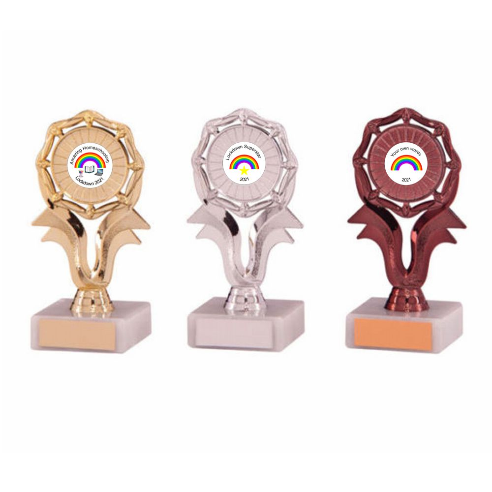 Lockdown Rainbow Trophies