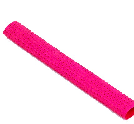 Bright Pink Cricket Bat Grip