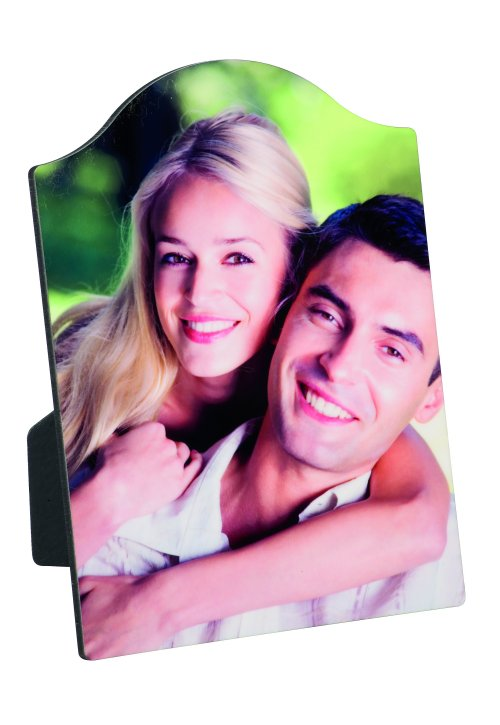 Arched Wooden Photo Panel & Stand