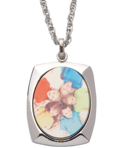 Personalised Oval Pendant