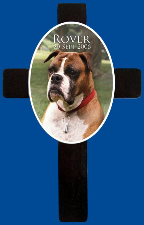 Personalised Photo Memorial Cross