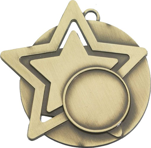 Any Sport Star Medals and Ribbons