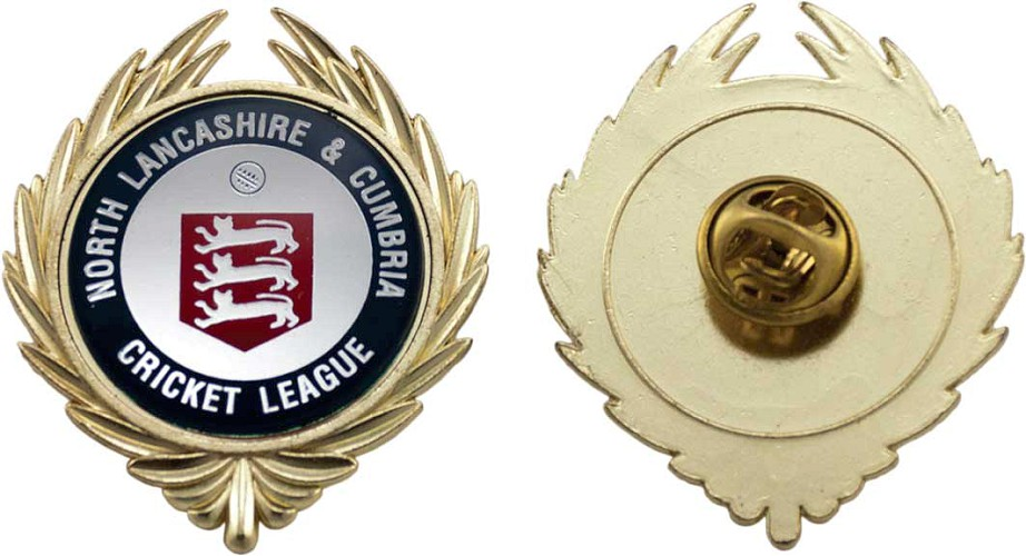 Metal Pin Badge and Centre