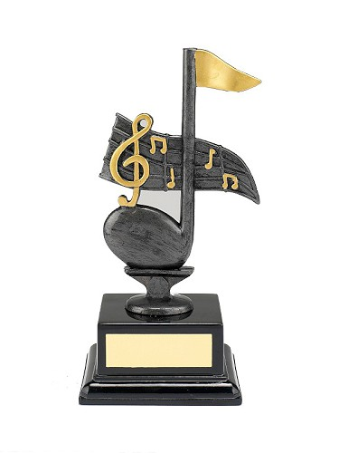 Music Note Trophy