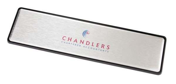 Personalised Metal Door Sign & Holder
